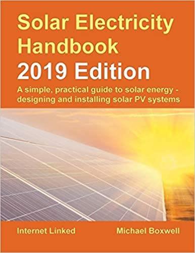 Solar Electricity Handbook – 2019 Edition