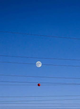 balls of power lines