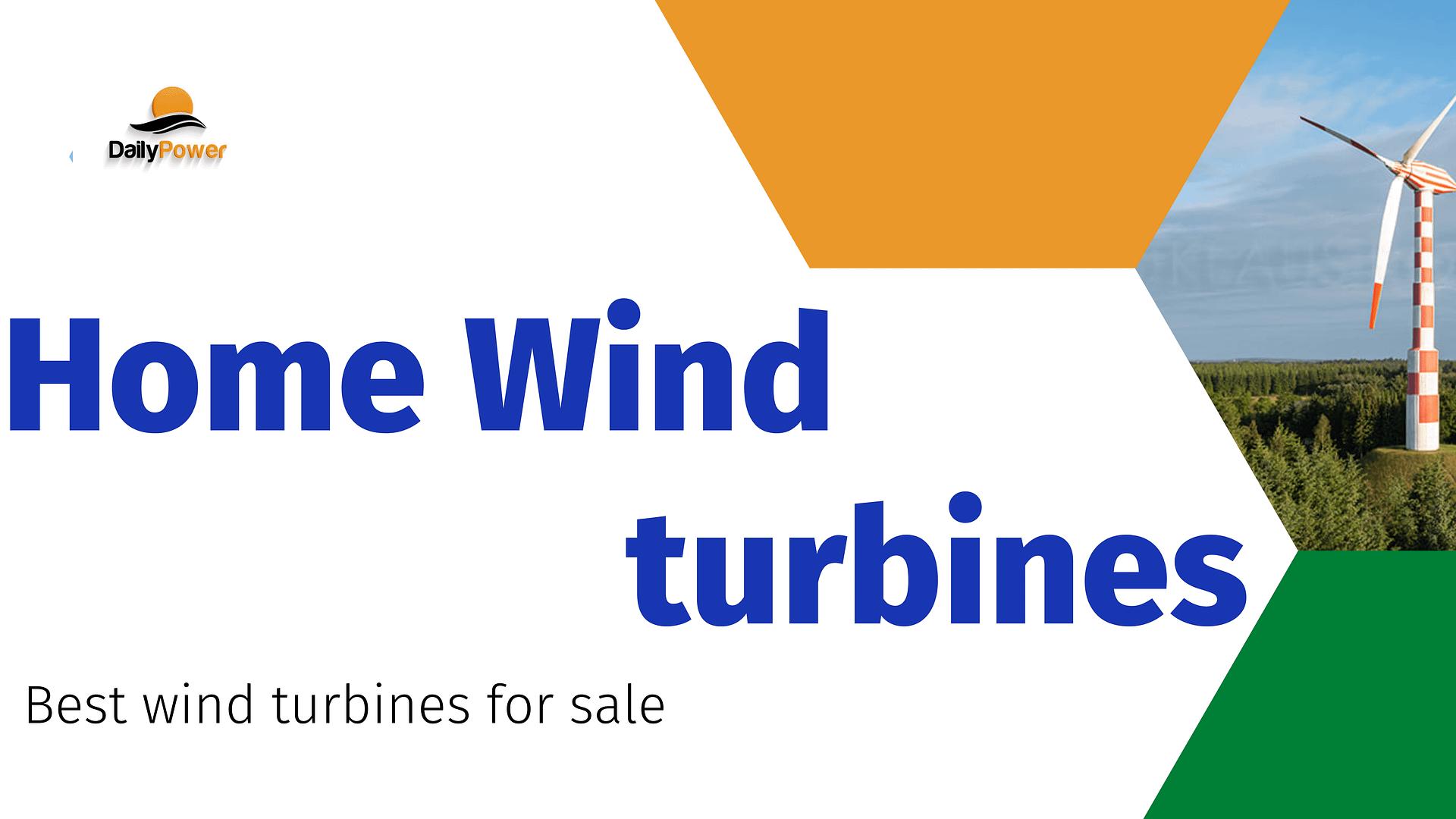 wind turbines for sale