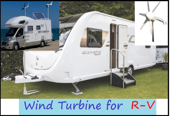 wind turbines for caravans