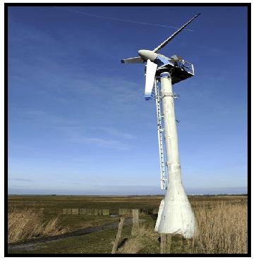 installation location of a wind turbine